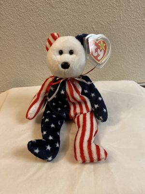 Ty Beanie Baby Spangle Bear for Sale in Sacramento, CA
