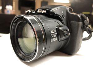 Nikon Coolpix P600 Camera READ for Sale in Scottsdale, AZ