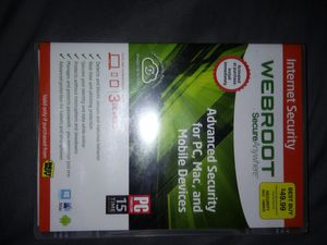 Webroot advanced security for Sale in Eugene, OR