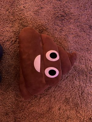 Poop emoji Pillow for Sale in Baldwin Park, CA