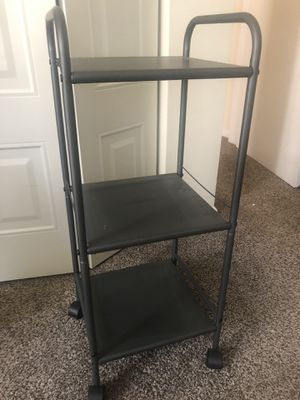 Rolling small shelf for Sale in King of Prussia, PA