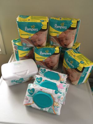 🧸 Size 1 Diaper Bundle 🧸 for Sale in Burke, VA