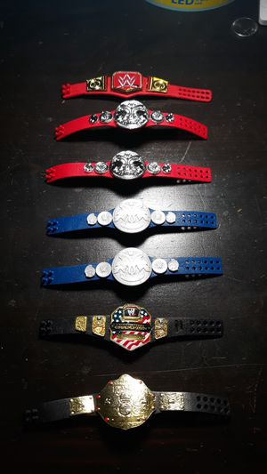 WWE figure belts for Sale in Rowland Heights, CA
