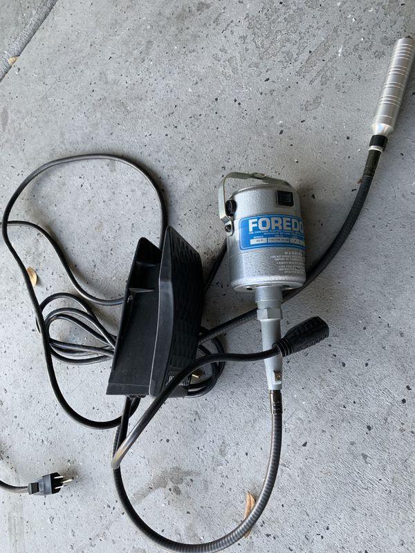 Foredom flex shaft hanging drill