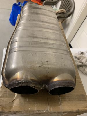 OEM AMG Factory Exhaust Resonator for 2004 MBZ E55 AMG part A2114910300 for Sale in Foothill Ranch, CA