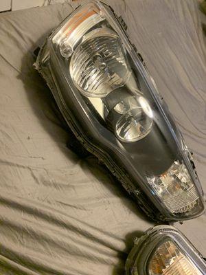 09-2014 mitsibishi lancer/evo oem both headlight's for Sale in Henderson, NV