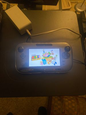 Nintendo Wii U with super Mario 3D world built in for Sale in Stockton, CA
