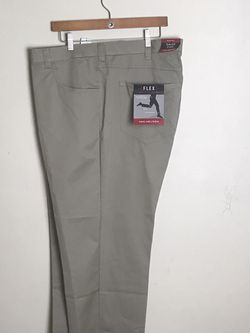 Men's Dress Brown Pants by Van Heusen Flex3 Comfort Size 54 X 30 New with tags for Sale in French Creek,  WV