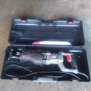 Heavy duty porter cable sawzall 8 . 5 amp ( Brand new ) for Sale in Oak Lawn, IL