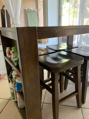 Dining set , chairs, mesa , table , wood , small , madera for Sale in Miami, FL