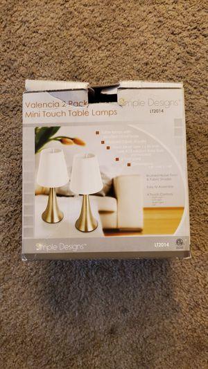 2 small desk lamps new for Sale in Orange, CA
