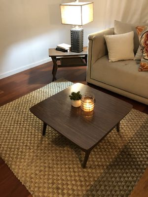 Mid century modern Coffee table and side table for Sale in Industry, CA