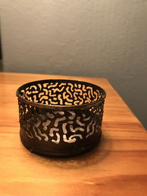 Candle Holder made from Tin Can for Sale in Fresno, CA