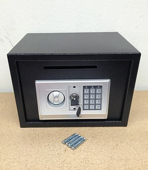 "New $50 Depository 14""x10""x10"" Digital Security Safe Box Electric Keypad Lock w/ Master Key for Sale in El Monte, CA"