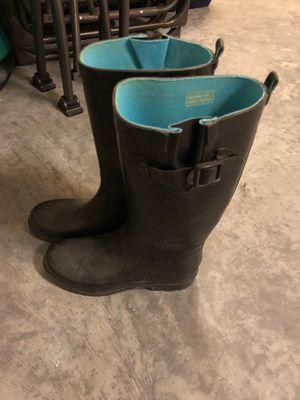 Women's size 7 rain boots for Sale in Riverview, FL