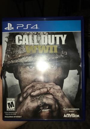 CALL OF DUTY WWII PS4 for Sale in San Diego, CA
