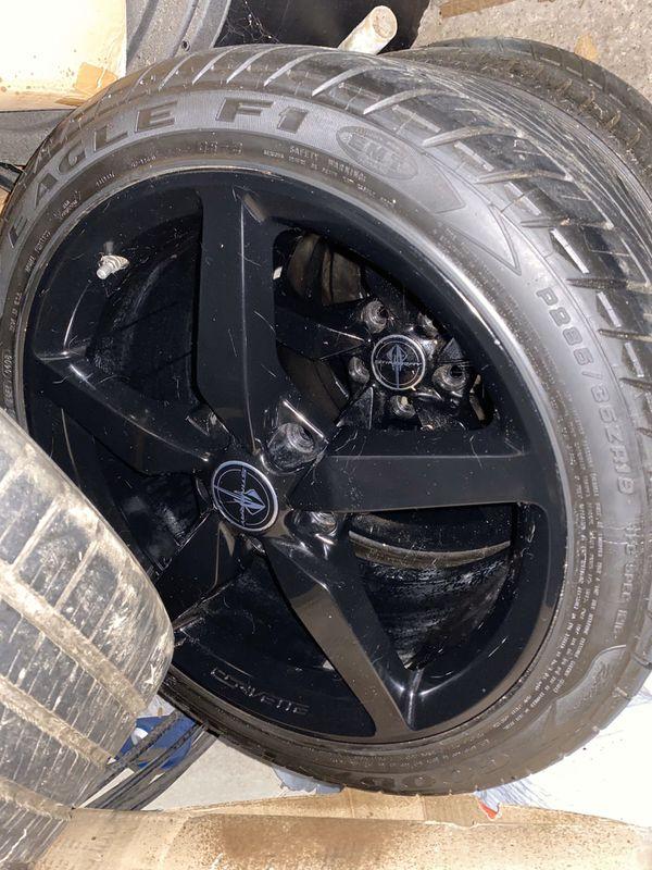 2018 Chevrolet Corvette Stingray Wheels