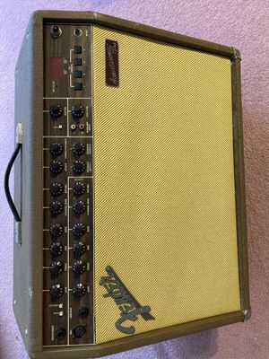 """Fender 2 input (1/4"""", mic) amp for Sale in Westminster, CO"""