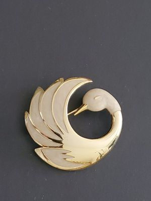 Vintage French Swan Brooch by Orena Paris for Sale in Sarasota, FL