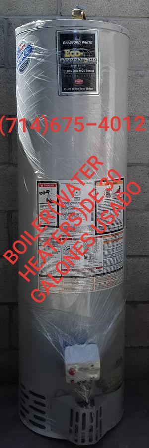 BOILER(WATER HEATERS)DE 30 GALONES USADO!! for Sale in Santa Ana, CA