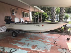 1981 Boston Whaler and trailer for Sale in DeLand, FL