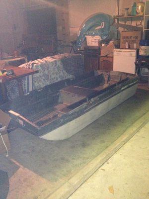 Plastic fishing boat for Sale in Fresno, CA