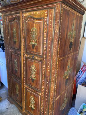 Beautiful antique armoire for Sale in Laguna Niguel, CA