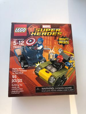 LEGO Mighty Micros Captain America vs Red Skull 76065 New Sealed for Sale in FL, US
