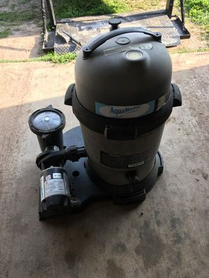 Pool Pump and cartridge filter for Sale in Cedar Creek, TX