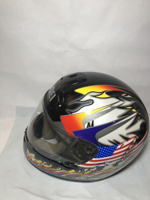 Shoei Full Face Motorcycle Helmet Sz XL American Flag for Sale in Atlanta, GA