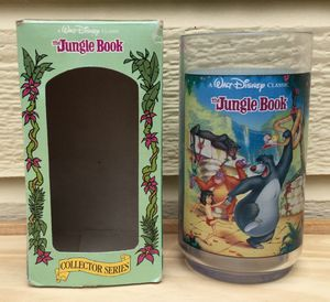 Disney The Jungle Book Collector Series Cup ~ From Burger King 1994 for Sale in Fresno, CA