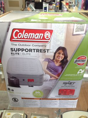 Coleman Twin Air Mattress for Sale in Maple Shade Township, NJ