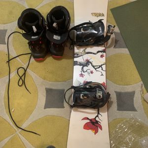 Snowboard, Bindings, Boots for Sale in Portland, OR