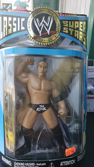 WWE ACTION FIGURE COLLECTIBLE THE ROCK 2007 PICK UP IN WHITTIER for Sale in Whittier, CA