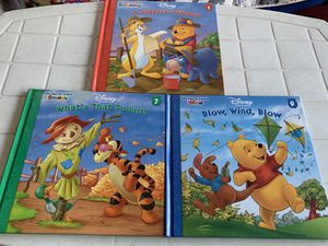 Winnie the Pooh Books of Learning All 3 for $5 for Sale in Boston, MA