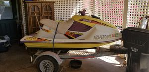 Yamaha 760 Jetski and trailer with clear title and plates for Sale in Avondale, AZ