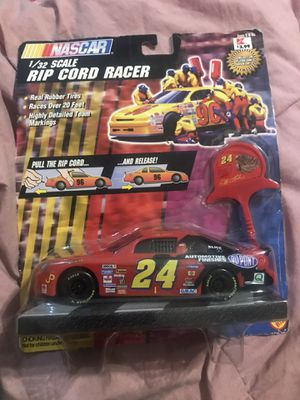 Nascar #24 Jeff Gordon Rip Cord Racer for Sale in Cooper City, FL