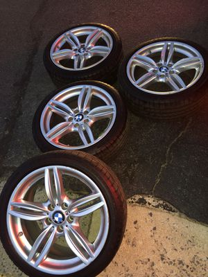 """BMW 19"""" rims and tires for Sale in Clifton, VA"""
