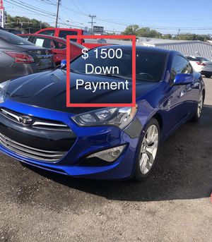 2013 Hyundai Genesis Coupe $ 1500 Down Payment for Sale in Nashville, TN