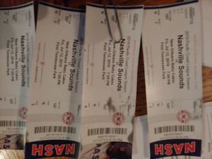 4 tickets to the Sounds game Friday July 12th for Sale in Nashville, TN