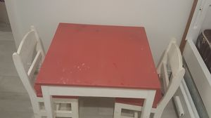 Kids table and chairs for Sale in Burleson, TX