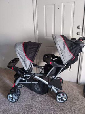 Double stroller for Sale in Dallas, TX