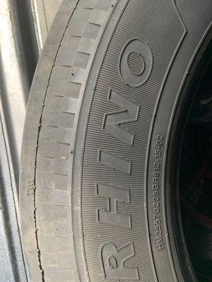 Used Rhino semi tire 255/70r22.5 for Sale in Tampa, FL