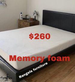 💥Brand new Blue Gel Memory Foam Mattress💥 Queen Mattress only-$260 Mattress & box spring-$320 Full Mattress only-$235 Mattress & box spring for Sale in Norwalk,  CA