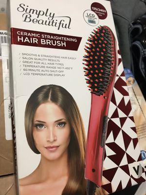 CERAMIC STRAIGHTENING HAIR BRUSH for Sale in Pittsburg, CA