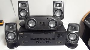YAMAHA RECEIVER AND KLIPSCH SPEAKERS for Sale in Corpus Christi, TX
