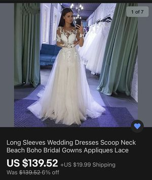 White wedding dress for Sale in Smiths Station, AL