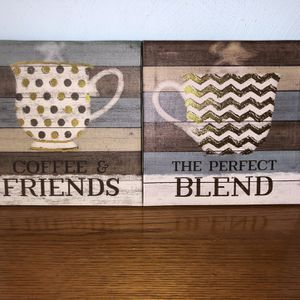 Canvas Art - Coffee Theme for Sale in Virginia Beach, VA