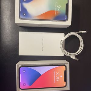 iPhone X Silver 64gb for Sale in Mesa, AZ