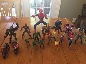 MARVEL DC Action Figure Lot for Sale in Plano, TX